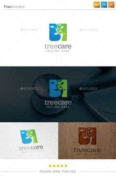 Tree - Logo Design Template Vector #logotype Download it here: http://graphicriver.net/item/tree-logo/10796913?s_rank=1120?ref=nesto