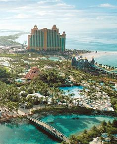 A vacation at The Cove Atlantis in The Bahamas..it's shore to be unforgettable.