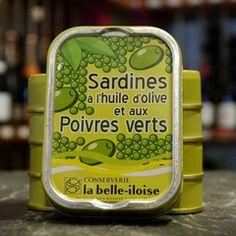 Sardine mit grünem Pfeffer
