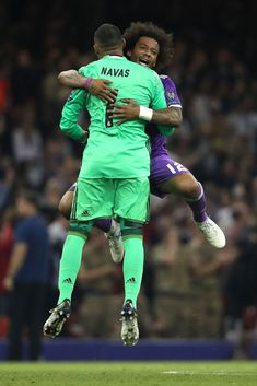 Navas & Marcelo. #realmadrid  #football