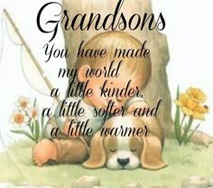 Love my grandsons!