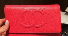 Chanel Wallet on Chain Bags for Spring / Summer 2014 | Spotted Fashion