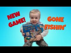 Gone Fishing Game - Family Game Night with Kids, playing Wesley's new game Gone Fishin' - YouTube