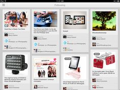 Hands-on: major Pinterest app update for iPhone, iPad, Android | Ars Technica.  Version 2.0 shines on iPad, and is now actually usable on iPhone.
