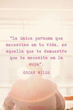Oscar Wilde Frases sobre la vida