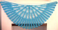 Shawl Crochet Pattern - Light and Airy Openwork Pattern - Beautiful Quick and Easy. $4.95, via Etsy.