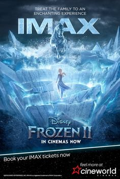 Make your Frozen 2 cinema experience even more enchanting in stunning IMAX! Book your family ticket at Cineworld today. Disney Theme, Disney Art, Disney Pixar, Comedy News, In Cinemas Now, Emo Band Memes, Cinema Experience, Pirate Art, Planets Wallpaper