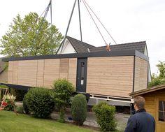 Die 32 besten bilder von kleinhaus bauen for Wohnbox fertighaus