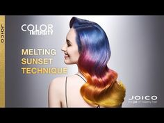 JOICO Color Intensity Melting Sunset Technique Tutorial Video