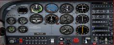 172 cockpit