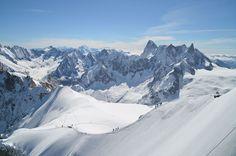 Arête de l'Aiguille du Midi - © OT Chamonix