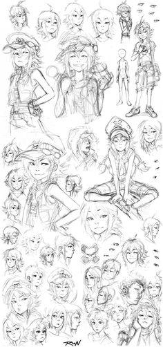 2010 - Sketch Dump 3 by Runshin.deviantart.com on @DeviantArt