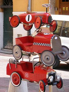 Red Cars by aussieanne, via Flickr