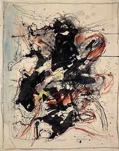 Asger Jorn - Untitled, 1961