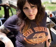 Beer Drinker t-shirt available on Etsy