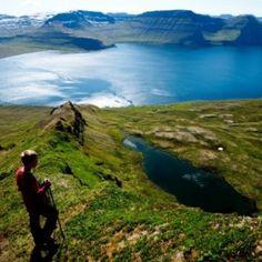 ... Hiking in Westfjords