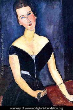 Madame Georges van Muyden - Amedeo Modigliani - www.modigliani-foundation.org
