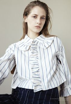 #MelinaGesto by #ArnoFrugier for #Russh #60 2014