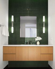 Vote for the Best Professional Bath: Green Tiled Bath from Deborah Berke Partners
