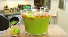 Super Bowl Margarita Jungle Juice Recipe