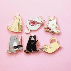 cats pin