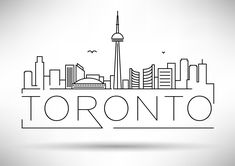 Find Minimal Toronto City Linear Skyline Typographic stock images in HD and millions of other royalty-free stock photos, illustrations and vectors in the Shutterstock collection. Thousands of new, high-quality pictures added every day. Toronto Skyline, Toronto City, Typographic Design, Typography, Lettering, City Drawing, City Sketch, Buch Design, Skyline Silhouette