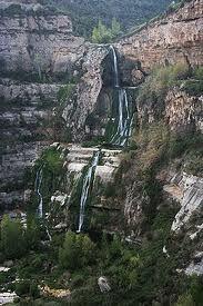 El saltant del riu Tenes a Sant Miquel del Fai (Bigues i Riells)