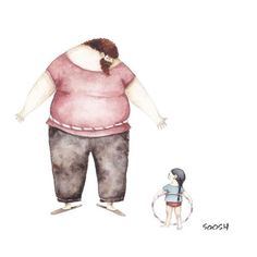 """The Love Between Dads And Their Little Girls In Heartwarming Illustrations By Ukrainian Artist Snezhana Soosh. """"Dad by my side"""" series of watercolor illustrations show the magic and beauty of this relationship. Father And Daughter Love, Father Daughter Relationship, Illustration Photo, Illustrations, Watercolor Sketch, Watercolor Illustration, Sweet Pictures, Wallpaper World, Daddys Girl"""