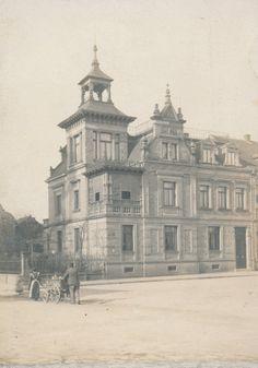 Oder hier das Anwesen der Familie Schalk an der Schützenstraße, Ecke Landauerstraße
