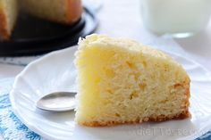 Eggless Cake   dieT Taste Eggless Cake - easy no-egg and no-butter sponge cake, base of many desserts, suitable for vegetarians and vegans - diettaste.com