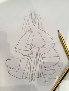 fashion design drawings Fashion sketches dresses drawings Source by anouschkakatharina dress drawing Dress Design Drawing, Dress Design Sketches, Dress Drawing, Fashion Design Drawings, Fashion Sketches, Drawing Sketches, Dress Designs, Drawing Faces, Croquis Fashion