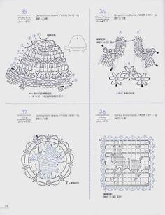 Häkeln - Crochet - Applikation