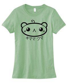 534ae1f204c Kaomoji shirt - kawaii Japan emoji - cute bear t-shirt - kawaii womens tee