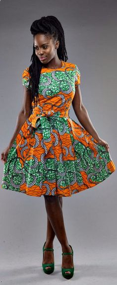 African print dresses can be styled in a plethora of ways. Ankara, Kente, & Dashiki are well known prints. See over 50 of the best African print dresses. African Dresses For Women, African Print Dresses, African Attire, African Wear, African Women, African Prints, African Style, African Fabric, African Fashion Designers