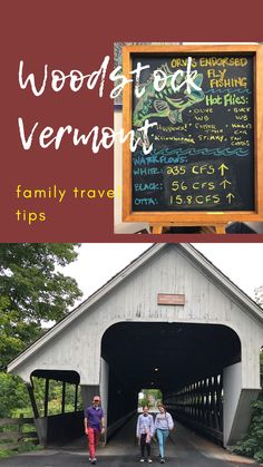 Your family will love Woodstock, Vermont in the summer. It's a quaint New England town full of historic residences and tons of outdoor fun. #Vermont Travel With Kids, Family Travel, Woodstock Vermont, Best Places To Travel, Your Family, Outdoor Fun, New England, Road Trip, Explore