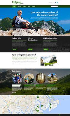 Hiking Responsive Website Template New Screenshots BIG