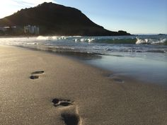 Foot prints in the sand. Foot Prints, Beach, Water, Outdoor, Gripe Water, Outdoors, The Beach, Beaches, Outdoor Games