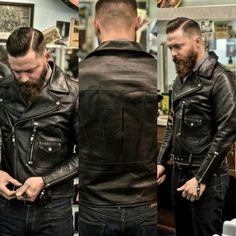 Himel brothers Avro horsehide D pocket jacket