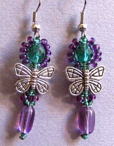 Micro Macrame Earring Patterns | previous image go back to new micro macrame earring designs next image