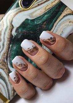 Chic Nails, Classy Nails, Stylish Nails, Trendy Nails, Best Acrylic Nails, Acrylic Nail Designs, Nail Art Designs, Romantic Nails, Glow Nails