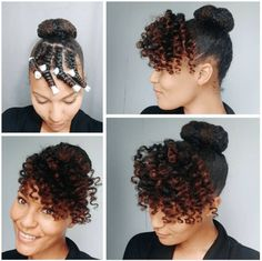 15 More Stunning Natural Hair Pictorials Are you bored with your usual puff or bun? Do you need fresh summer hairstyle ideas with how-to instructions? Well, here are 15 stunning natural hair pictorials to get you started. Brosia shows us… Tapered Natural Hair, Natural Hair Updo, Natural Hair Care, Relaxed Hair, Cabello Afro Natural, Braids For Medium Length Hair, Medium Hair, Stylish Hair, Summer Hairstyles