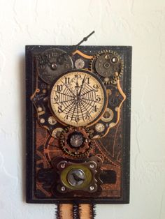 Graphic 45 Steampunk Spells Halloween Mixed by SireneDeDesert, $20.00