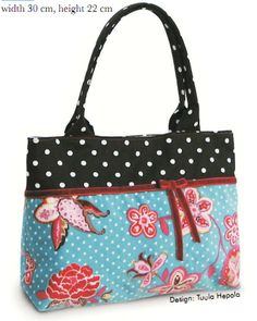 Dotted Dream Purse Sewing Pattern by Ottobre