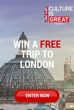 From now until October 3, enter every day for a chance to win an epic prize for 2 to London including flight, hotel and a mega theatre package.