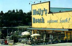 Molly's Reach cafe at Gibsons Landing sunshine coast BC Canada. This cafe was in the Canadian TV series The Beachcombers. Another great TV series. Great Vacation Spots, Vacation Ideas, West Coast Canada, Sunshine Coast Bc, Vancouver City, Travel Memories, Canada Travel, Summer Travel, British Columbia