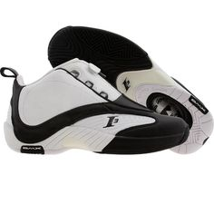 Reebok Answer IV (white / black) 151569 - $119.99 Style Men, Men's Style, Nice Things, Basketball Shoes, Reebok, Black Shoes, Sneakers Nike, Mens Fashion, My Love
