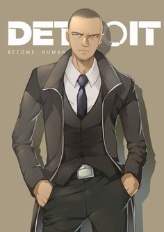 Detroit become human   DBH   Markus
