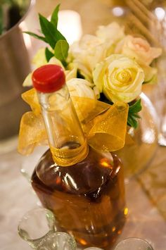 """A Romanian wedding must have ;) """"Tuica"""" is a local variety of very strong fruit brandy, most commonly made out of plums!!"""