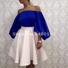 Cheap dress fighting, Buy Quality gowns to wear to a wedding directly from China gown evening dress Suppliers: Sexy Off the Shoulder Saudi Arabia Royal Blue Short Dubai Prom Dresses Ruched A-Line Women Party Gowns Vestido de Festa