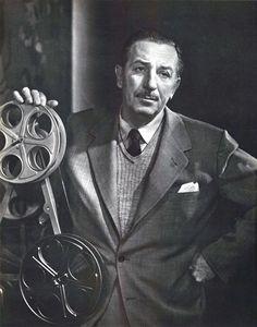 Walt Disney, 1955.